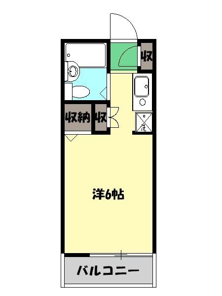 プチメゾン イセトヨ・104号室の間取り