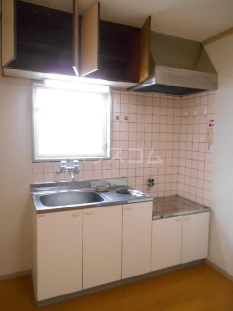 コーポK 101号室のキッチン