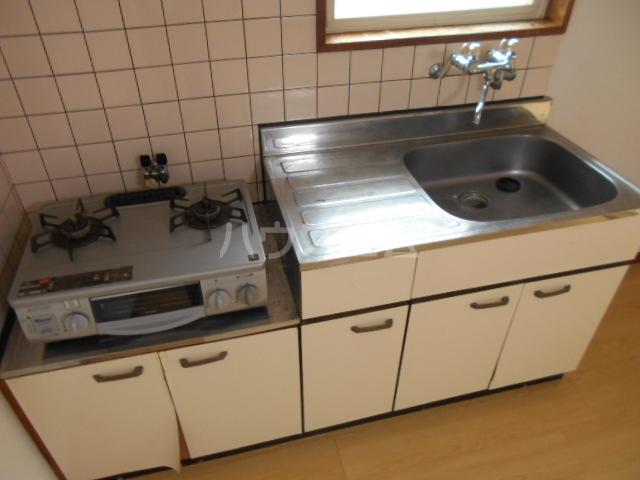コーポK 102号室のキッチン