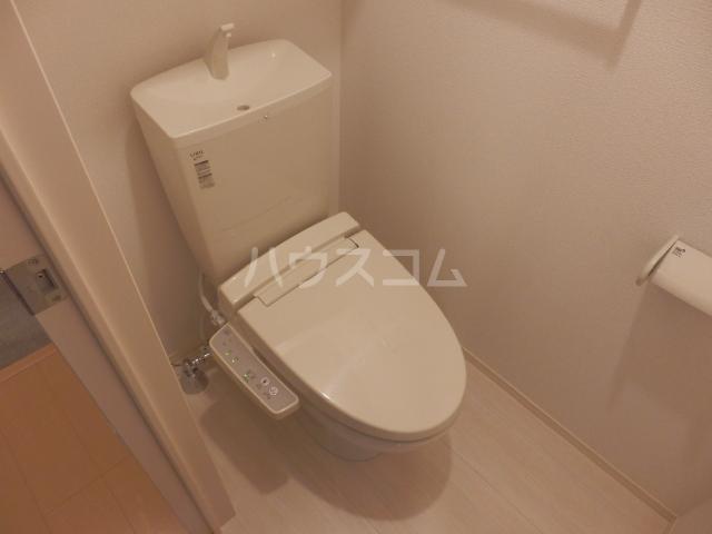グランドールAbe 201号室のトイレ