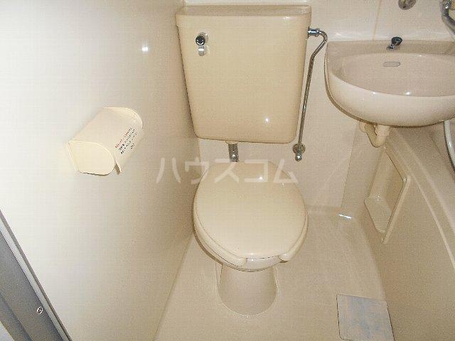 シティパレス相模原 104号室のトイレ