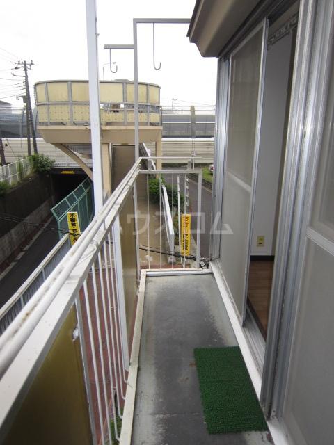 コーポ井垣 201号室のバルコニー