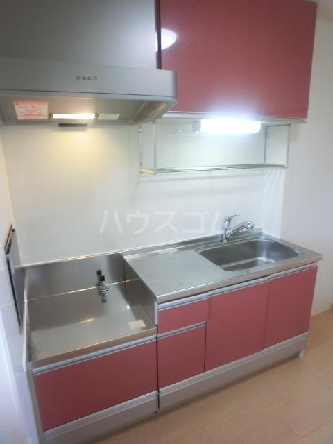 ボナール07 101号室のキッチン