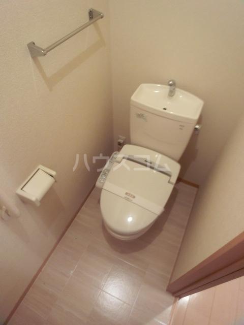 ボナール07 101号室のトイレ