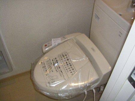 フォルスXI 102号室のトイレ