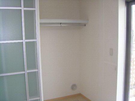 フォルスXI 102号室の収納
