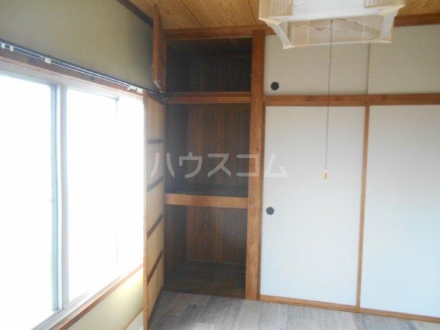 一寸木アパート 201号室の収納