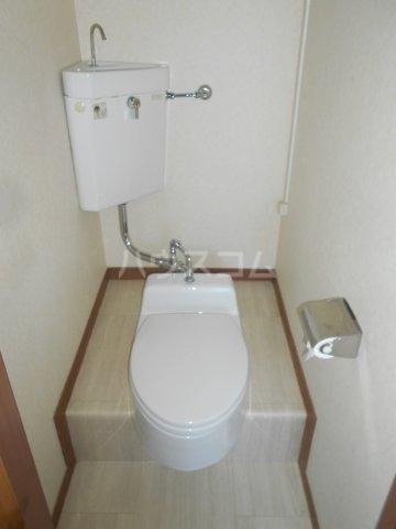 一寸木アパート 201号室のトイレ