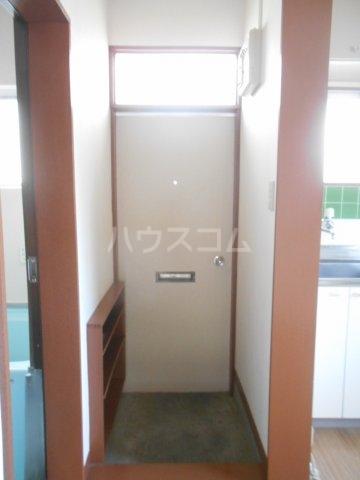 一寸木アパート 201号室の玄関