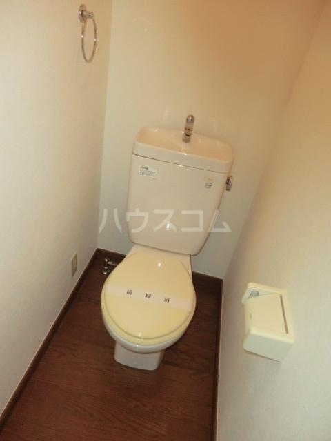 DUPLEXのトイレ