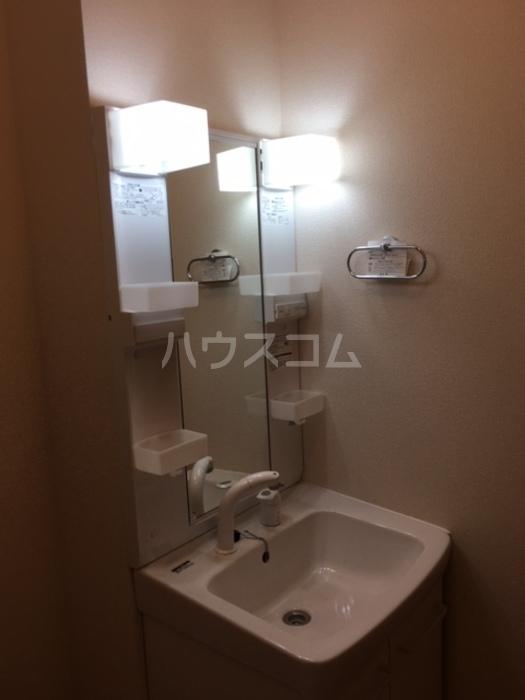 利根レジデンス 101号室の洗面所