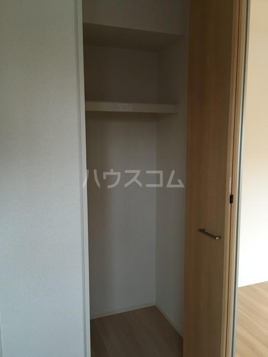 利根レジデンス 205号室の収納