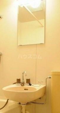 メゾンパレット 205号室の洗面所