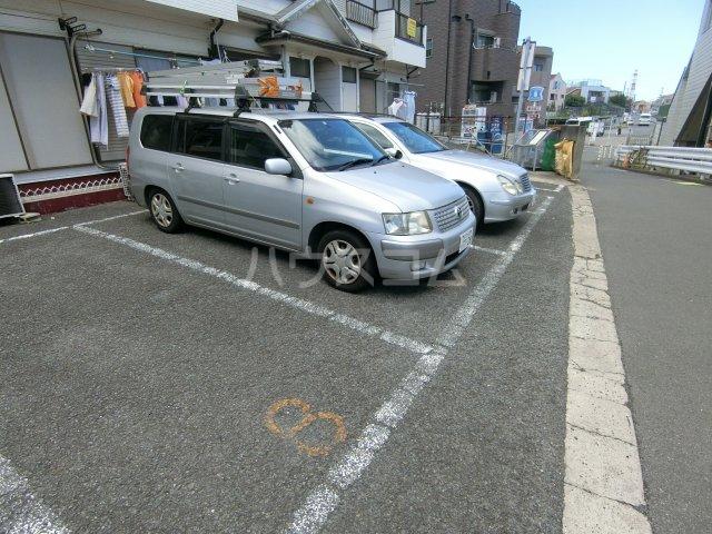 明和コーポB 202号室の駐車場