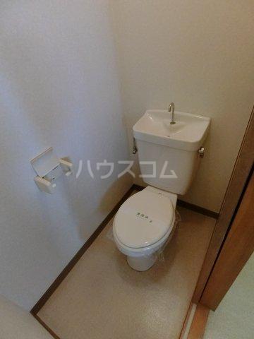 明和コーポB 202号室のトイレ