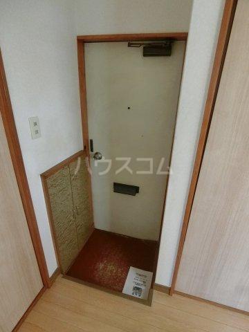 明和コーポB 202号室の玄関