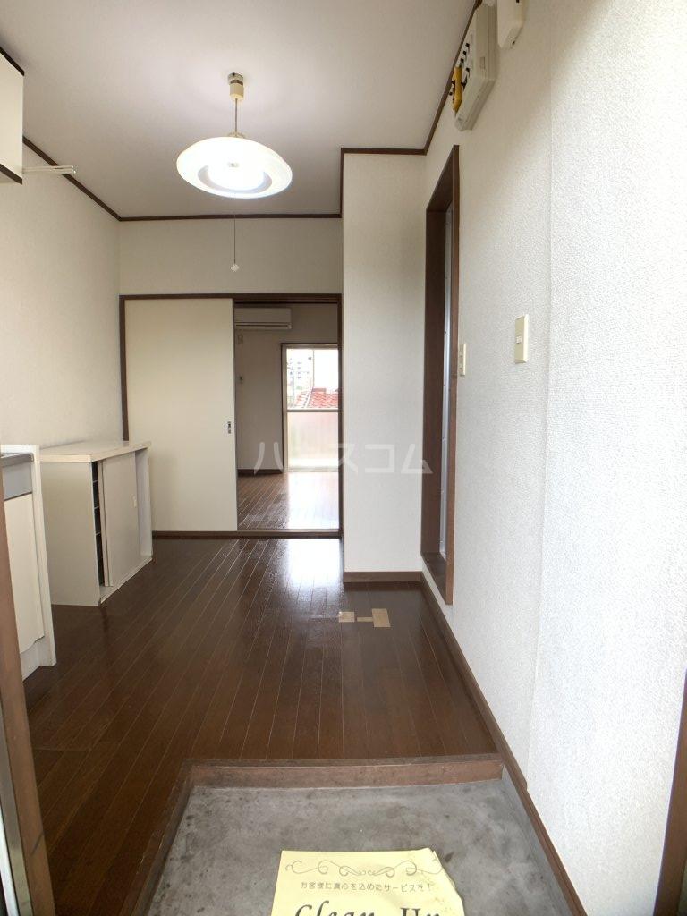 第二コーポ 高市 202号室の玄関