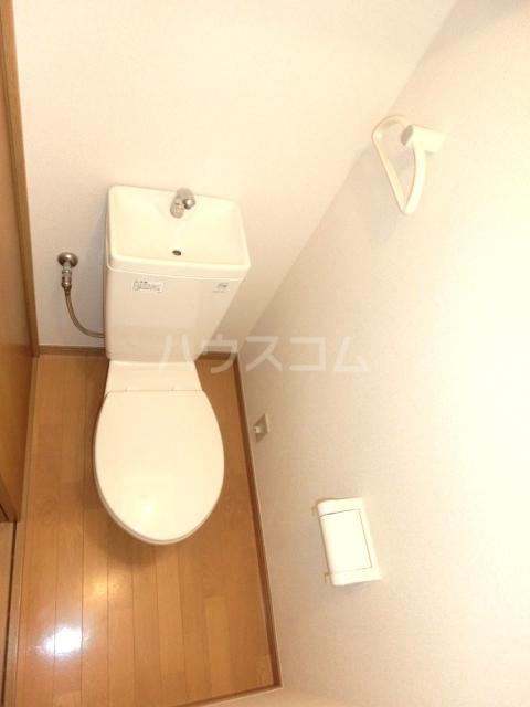 UBN 201号室のトイレ