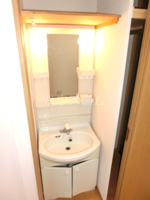 UBN 201号室の洗面所