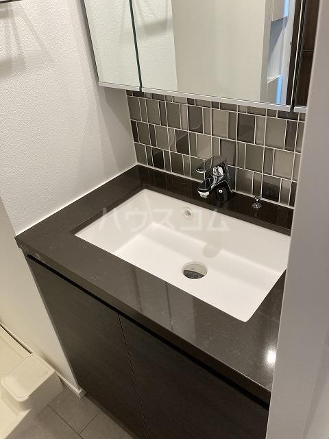 ザ・パークハビオ駒込 901号室の洗面所