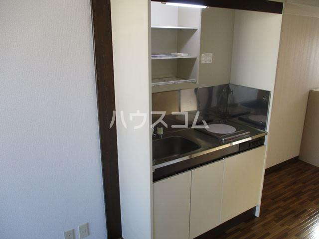 プレアデス酒匂 201号室のキッチン
