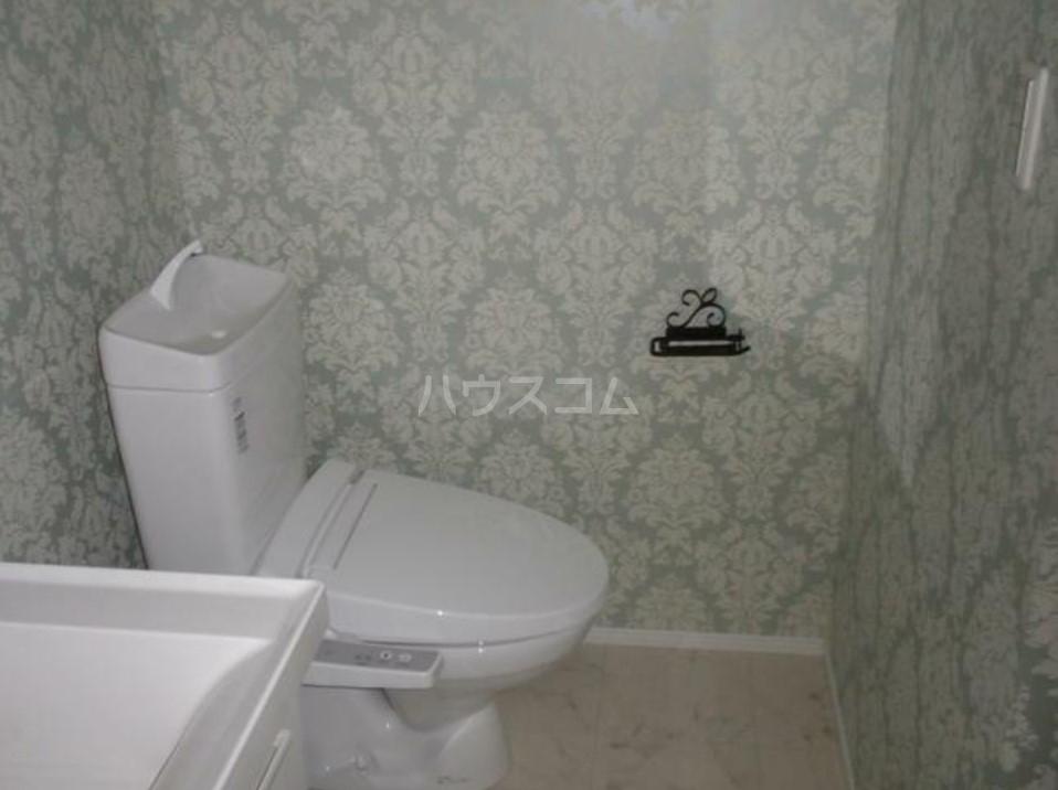 COCO 302号室のトイレ