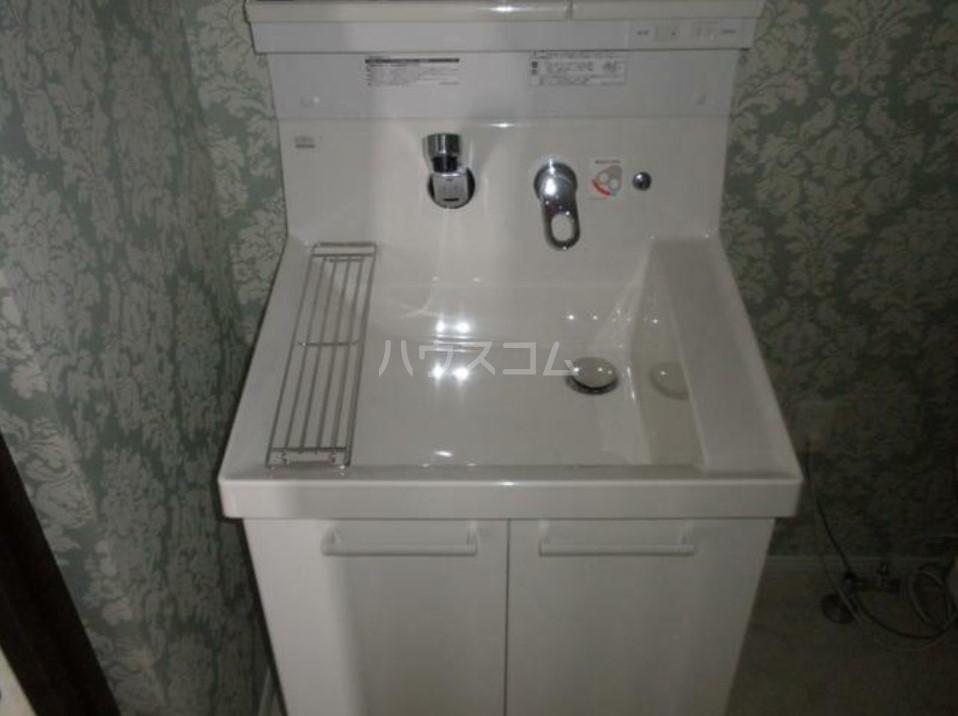 COCO 302号室の洗面所