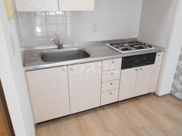 ベルデュール鷺沼 205号室のキッチン