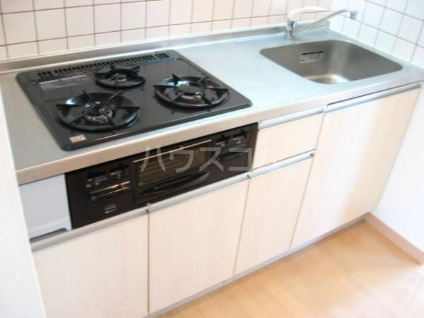 パレット39 B棟 302号室のキッチン