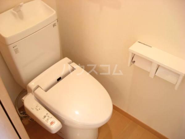 パレット39 B棟 302号室のトイレ