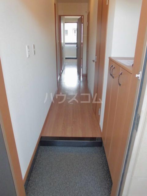 プルミエ 201号室の玄関