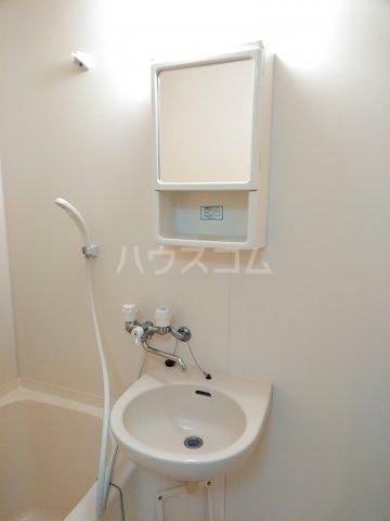 エルシオンⅡ 202-A号室の洗面所