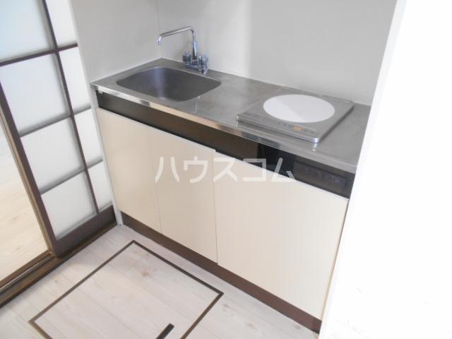 キャッスルT・W 103号室のキッチン