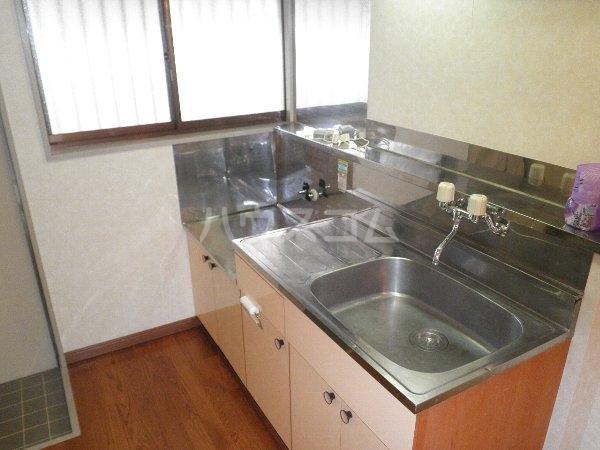 ヴィラ安耶 204号室のキッチン