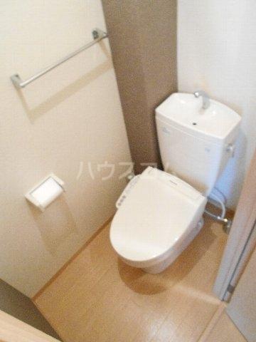 パルコート 202号室のトイレ