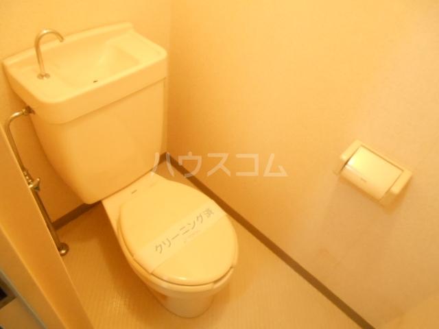 加藤マンション 304号室のトイレ