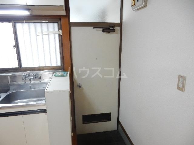 コーポ長谷川 201号室の玄関
