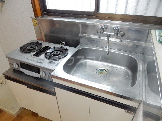 コーポ長谷川 201号室のキッチン