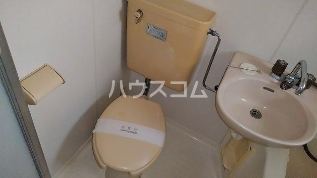 プレステージ金明 103号室のトイレ