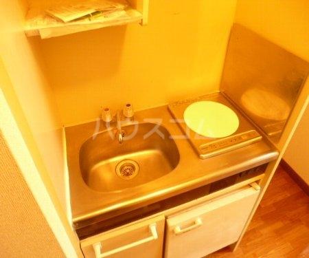 カーサフロール西船 202号室のキッチン