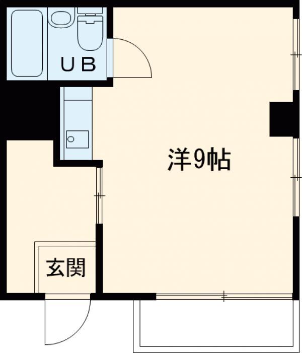 ピア榎本 301号室の間取り