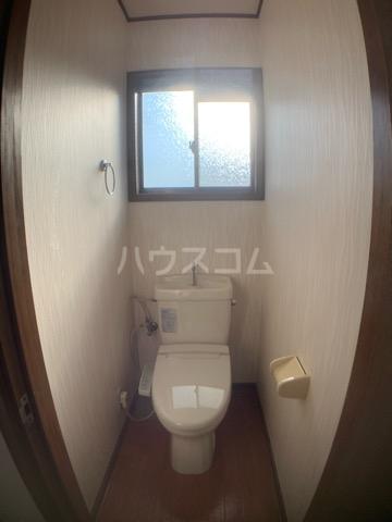 リヴェールハイツ 202号室のトイレ