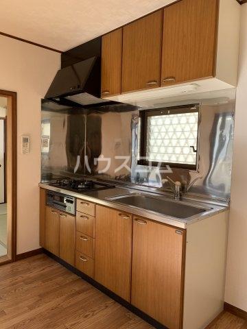 リヴェールハイツ 203号室のキッチン