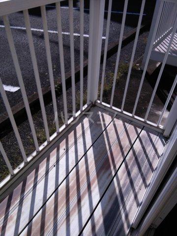 オレンジハウス森田壱番館 102号室のバルコニー