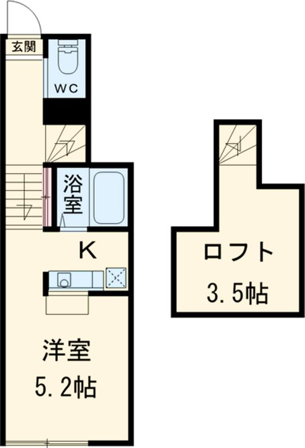 MyStyle NISHIFUNABASHI 105号室の間取り