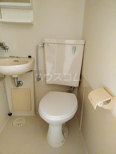 ハイツトーカンドー 102号室のトイレ