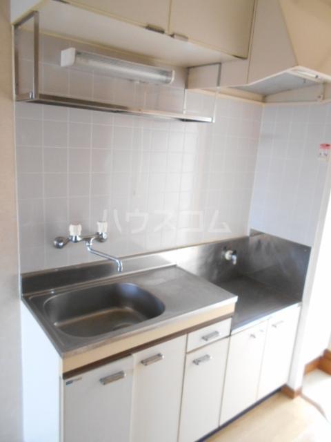 ベルシオン丸久B 202号室のキッチン