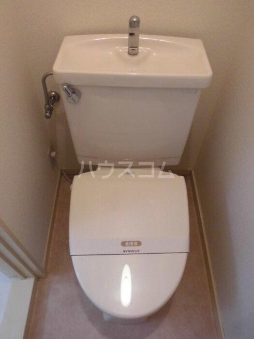 エクセリア四季野 A 101号室のトイレ