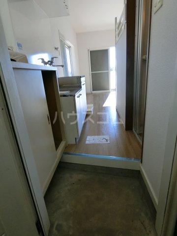 コーポ嵐川 101号室の玄関