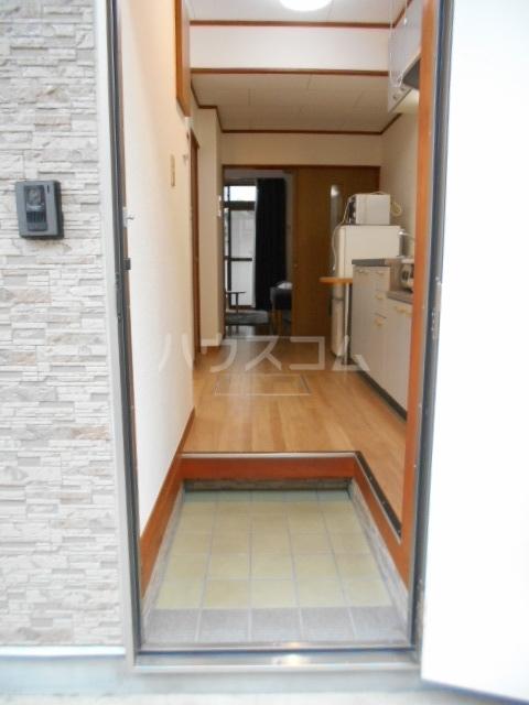プランドール東町 102号室の玄関